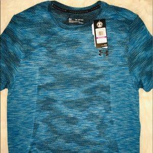 Under Armour Arctic Blue Mica short sleeves sz XXL